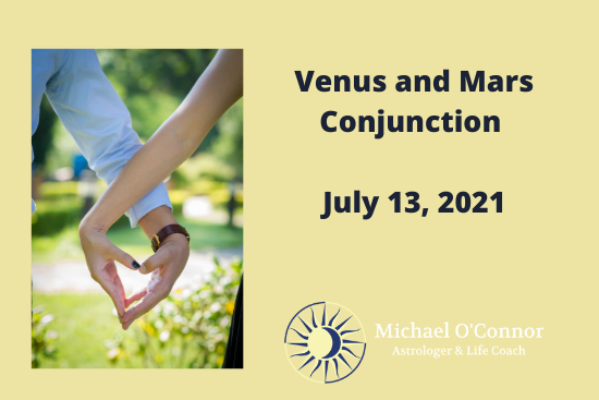 Michael O'Connor, Astrologer - Venus Mars Conjunction